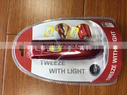 wizzit tweeze with led light electric threading hair remover with led light
