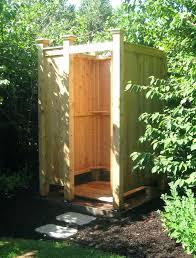 outdoor shower kit free standing ma garden hose cedar showers standard