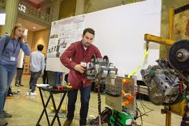 Mechanical Engineering Robots Showcasing Solutions For Land Sea Space And Everywhere
