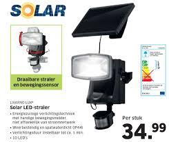 Livarno Lux Solar Led Straler Aanbieding Bij Lidl