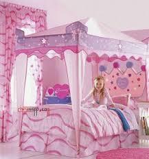 Modern pink princess room design