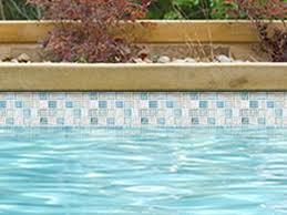national pool tile boutique santorini series 1x1 glass tile argent blue san blue