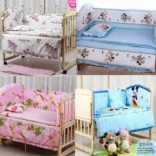 hot 120x70cm 5pcs baby crib bedding set kids bedding set newborn baby bed set crib per baby cot set bed per free myfashion