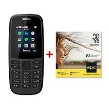 Mobile phone NOKIA 105 2019 Dual SIM ...