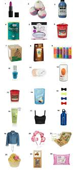 Huge list of last minute stocking fillers, secret Santa, advent calendar  gifts under