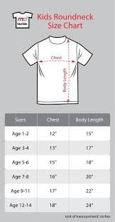 Child T Shirt Size Chart By Age Foursquare Kids T Shirt White Foursquare Kids T Shirt