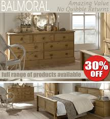 Pine Furniture Bedroom Balmoral Pine Bedroom Furniture Chest Of Drawers Wardrobe