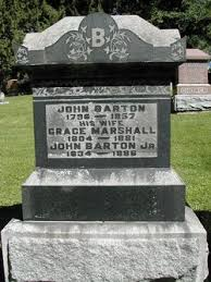 Grace Marshall Barton (1804-1881) - Find A Grave Memorial