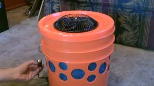 Solar Power Cooler Homemade Evap Air Cooler The 5 Gallon Bucket Swamp Cooler