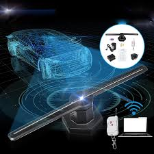 3d 224led Wifi Holographic Hologram Led Stage Light Projector Display Advertising Fan