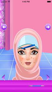 hijab makeover games fashion screenshot 3