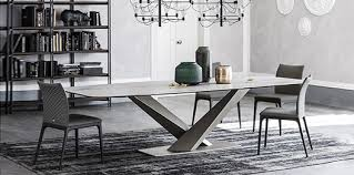 black modern furniture. Exellent Black Stratos Keramik Dining Table By Cattelan Italia Throughout Black Modern Furniture