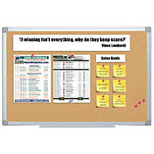 office cork boards. FORAY Aluminum Framed Cork Bulletin Board Office Boards R