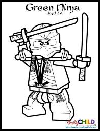 Small Picture lloyd zx Lego Ninjago Coloring Pages