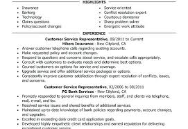 Customer Resume Examples Example Customer Service Representative