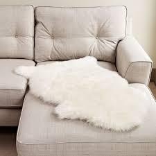 new zealand ivory sheepskin rug 60cm x 95cm