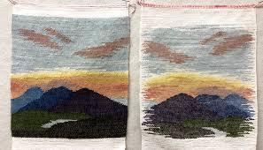 Welcome Allie Dudley, Resident Artist in Weaving, Rugs, Thread Art ...