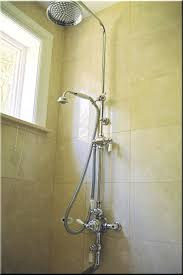 rain shower head bathtub. Bathtubs: Combination By Perrin Rohe Rain Shower Head With Hand Sprayer And Bathtub Faucet