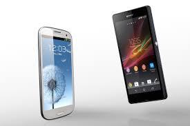 Sony Xperia Z vs. Samsung Galaxy S3