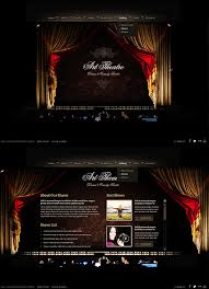Photo Website Templates Mesmerizing Theatre Website Templates Theatre Website Templates Theatre 48