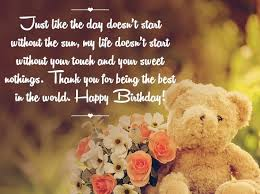 Birthday Love Quotes Adorable Happy Birthday Love Quotes Birthday Wishes For My Love