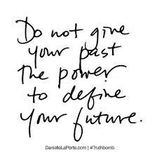 Gib Deiner Vergangenheit Nicht Nicht Macht Deine Zukunft Zu