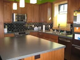 Steel Backsplash Kitchen Kitchen Artistic Tile Stainless Steel Backsplash Ideas For