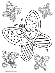Coloring Pages Butterflies Coloring Picture Frozen