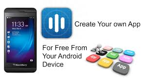 How To Create Your Own App From Your Android Device Youtube