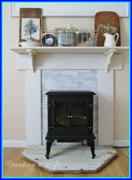 shocking diy mantel for electric fireplace insert collections page without popular and concept mantels inch jenn