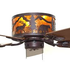 rustic hugger ceiling fans.  Hugger Forest Animals Rustic Hugger Ceiling Fan Inside Fans