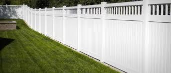 vinyl fencing. Vinyl Fence Installation Fencing E