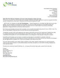 Cover Letter For Online Job Posting