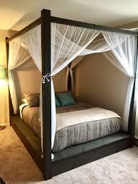 DIY Canopy Bed Frame | Bonners Furniture