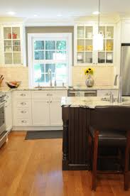 Kitchen Cabinets With Windows Above Kitchen Island White Green Colors Wooden Kitchen Cabinets