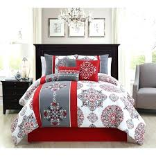 red and grey queen comforter set red and grey quilt black gray bedding red and grey red and grey queen comforter set red dark