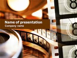 Movie Powerpoint Template Movie Reel Free Presentation Template For Google Slides