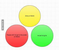 Girl Venn Diagram Venn Diagram For Girls On 9gag 9gag