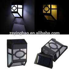 outdoor solar wall lights. High Quality Led Small Solar Fences Lights ,plastic Black Wall Light For Outdoor Lighting