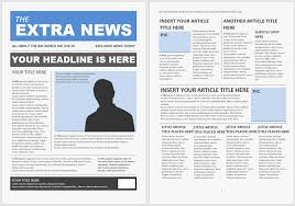 Free Newsletter Layout Templates Awesome 48 Free Newsletter Templates You Can Print Or Email As PDF