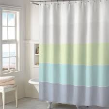 Buy Aqua Blue Fabric Shower Curtains From Bed Bath Beyond