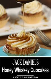 these jack daniels honey whiskey cupcakes with a boozy drizzle are pletely decadent and the most por recipe on my you must try them via