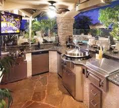 Garden Design With Custom Outdoor Kitchen Designs Outdoor Kitchens Florida  Pool With Rock Garden Design From