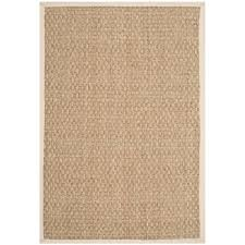 safavieh natural fiber beige grey 6 ft x 9 ft area rug nf114p 6 the home depot