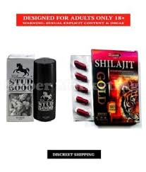 Stud 5000 Delay Spray Dr Chopra Shilajit Gold 10s Capsule