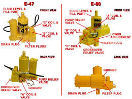 e 47 and e 60 maintenance meyer snow plow parts meyer pump diagram