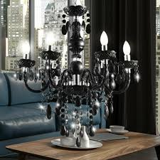 Leuchte Decken Zimmer Wohn Kronleuchter Kristall Led Hänge