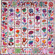 Flower Garden from Glorious Color. Kaffe Fassett Collective ... & Kim McLean's Flower Garden Quilt Adamdwight.com