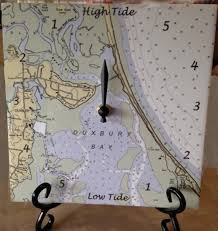 Duxbury Bay Tide Clock