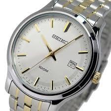 pochitto rakuten global market watch men x27 s seiko seiko watch men s seiko seiko quartz sur147p1 silver gold